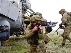 Nga tham gia tập trận chung ở biên giới Afghanistan