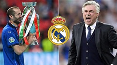 HLV Ancelotti muốn đưa Chiellini về Real Madrid