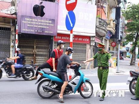 Hà Nội: Nhiều vi phạm về phòng dịch, tổng số tiền phạt hơn 3 tỷ đồng
