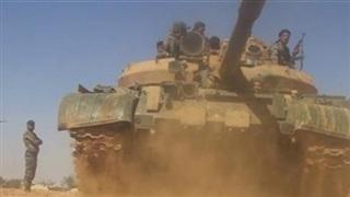 Quân đội Syria lần đầu tấn công các chiến binh thân Israel