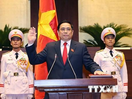 Nghị quyết bầu Thủ tướng Chính phủ nhiệm kỳ 2021-2026