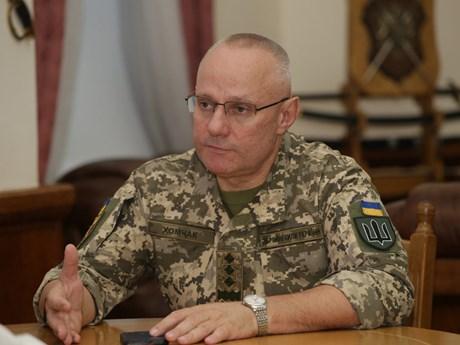 Tổng thống Ukraine cách chức Tổng tham mưu trưởng quân đội