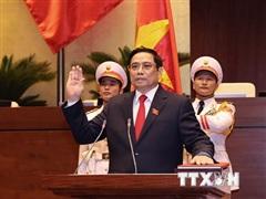 Thủ tướng Nội các Triều Tiên chúc mừng Thủ tướng Phạm Minh Chính