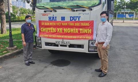 Hơn 60 tấn nông sản tiếp sức công nhân tại TPHCM