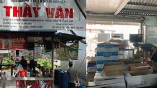 QLTT Đồng Tháp xử phạt một cửa hàng bán cao hơn giá niêm yết