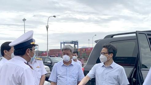 Ngăn chặn dịch xâm nhập hệ thống cảng biển tại Bà Rịa-Vũng Tàu