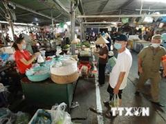 Dịch COVID-19: Hướng dẫn phòng, chống dịch tại các chợ địa phương
