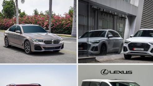 Xe sang mới cấp tập ra mắt khách Việt, giá cao nhất 11,5 tỷ