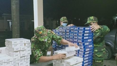 Thu giữ hơn 13.000 gói thuốc lá ngoại nhập lậu