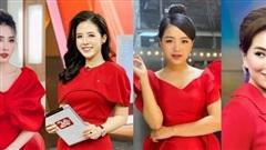 Loạt váy đơn sắc nhưng vẫn nổi bần bật của các nữ MC, BTV