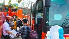 [ẢNH] Tỉnh Bến Tre đón 300 công dân từ TP HCM về quê nhà