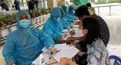 Hà Nội có thêm 61 ca dương tính SARS-CoV-2 ở 12 quận, huyện