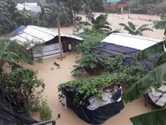 20 người thiệt mạng và 300.000 người mắc kẹt do lũ lụt tại Bangladesh