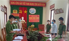 Bắt nguyên cán bộ TN-MT huyện Di Linh gây thiệt hại gần 2 tỷ đồng