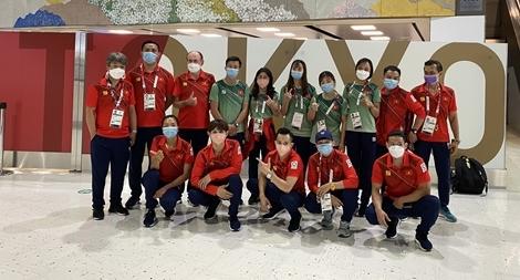 6 đội tuyển Việt Nam rời Olympic Tokyo về nước