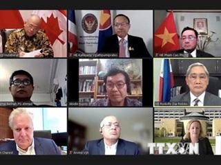 Kết nối Canada-ASEAN: Việt Nam nêu một số đề xuất hợp tác