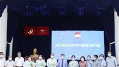 Công bố các chức danh Phó Chủ tịch Ủy ban Mặt trận Tổ quốc Việt Nam TP.HCM