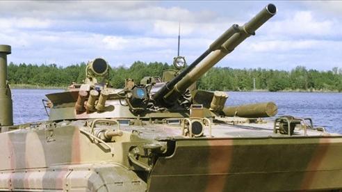 Nga tăng cường xe chiến đấu lội nước bảo vệ Crimea