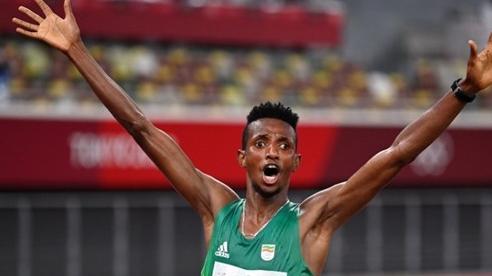 Ethiopia giành HCV đầu tiên của điền kinh Olympic Tokyo 2020