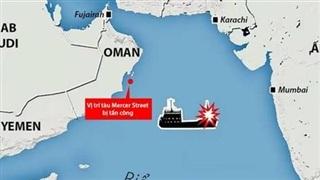 Tàu chở dầu của Israel bị UAV cảm tử tấn công