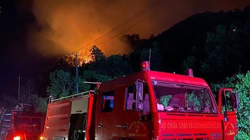 Miền trung tăng cường phòng, chống cháy rừng