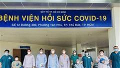 10 bệnh nhân mắc Covid-19 nặng đã khỏe mạnh và được xuất viện