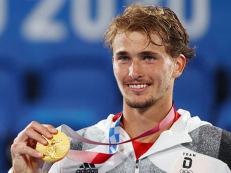 Zverev đi vào lịch sử với tấm huy chương Vàng Olympic Tokyo