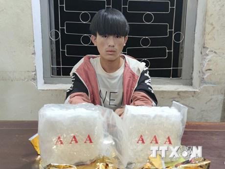 Điện Biên: Phá thành công chuyên án, bắt 1 đối tượng thu 2kg ma túy đá