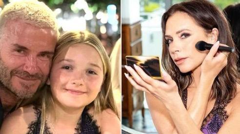 Beckham bị chỉ trích vì để con gái mặc đầm khoét hở hang quá đà