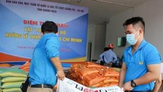 Quảng Ngãi hỗ trợ 8 tỷ đồng cho người dân phía Nam gặp khó khăn do dịch Covid-19