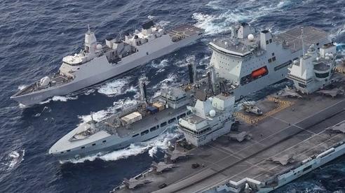 Sứ mệnh của nhóm tác chiến tàu sân bay Anh ở Biển Đông là gì?