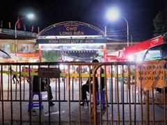 Phong toả tạm thời chợ đầu mối lớn nhất Thủ đô vì ca nhiễm COVID-19