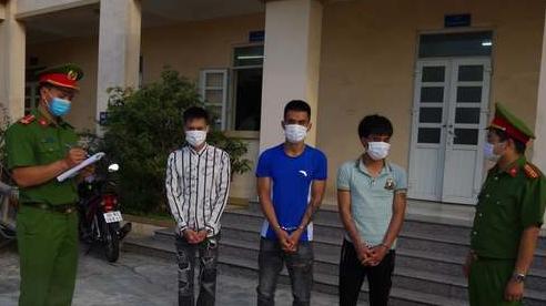 Bắt khẩn cấp 3 đối tượng vừa ra tù gây ra 5 vụ cướp giật tài sản ở Hà Nam, Ninh Bình