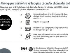 [Infographics] Gói hỗ trợ kỷ lục giúp các nước chống đại dịch COVID-19