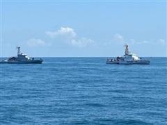 Hải quân Ukraine và Gruzia diễn tập duy trì an ninh ở Biển Đen