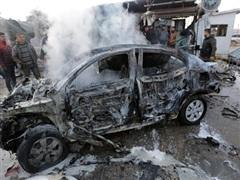 Syria: Nổ bom xe quân sự ở Damascus khiến nhiều người bị thương