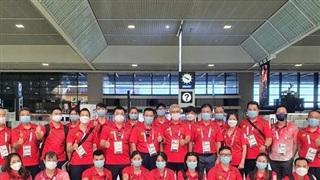 Đoàn thể thao Việt Nam về nước, kết thúc hành trình Olympic Tokyo 2020