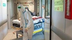 Hơn 98% số người nhập viện vì COVID-19 tại Nga chưa tiêm chủng