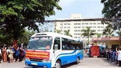 235 cán bộ, sinh viên y khoa Nam Định chi viện cho tỉnh Đồng Nai phòng, chống dịch COVID-19.