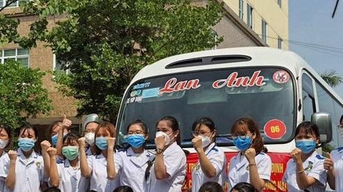 Nam Định: 235 thầy cô, sinh viên Y khoa 'Nam tiến'