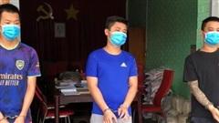 Đồng Nai giao 3 đối tượng truy nã trốn từ TP Hồ Chí Minh