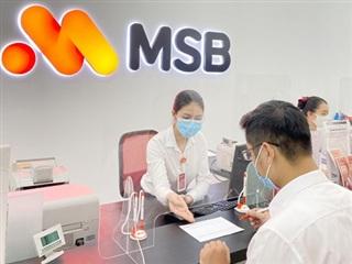 MSB duyệt phương án tăng vốn điều lệ lên 15.275 tỷ đồng