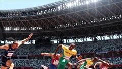 Điền kinh Mỹ lại tuột huy chương vàng 110m vượt rào nam