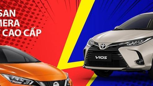 Với 580 triệu, chọn Nissan Almera hay Toyota Vios?