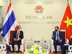Việt Nam-Thái Lan tăng cường hợp tác phòng, chống tội phạm