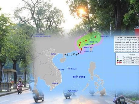 Bão số 4 gây ra nắng gay gắt ở Bắc bộ: Chuyên gia khí tượng nói gì?