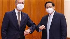 Thụy Sĩ viện trợ vật tư, thiết bị y tế cho Việt Nam