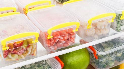 Nguyên tắc vàng trong việc trữ đông đồ ăn