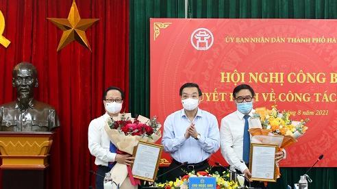 Hà Nội có 2 tân Giám đốc Sở
