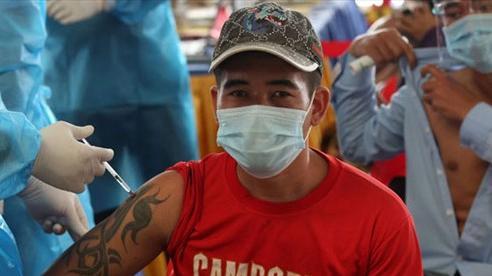 Campuchia gần đạt 80% mục tiêu tiêm vaccine, Thái Lan lập kỷ lục số ca nhiễm Covid-19 mới